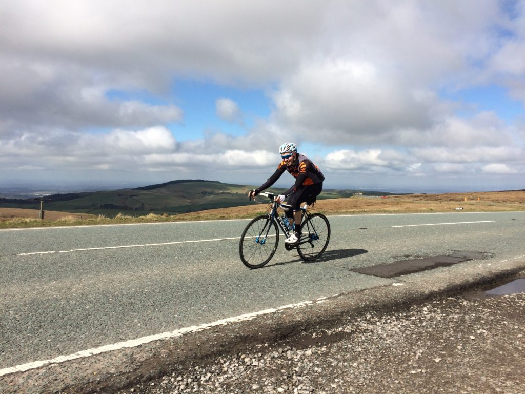 Chris H on the Cat & Fiddle