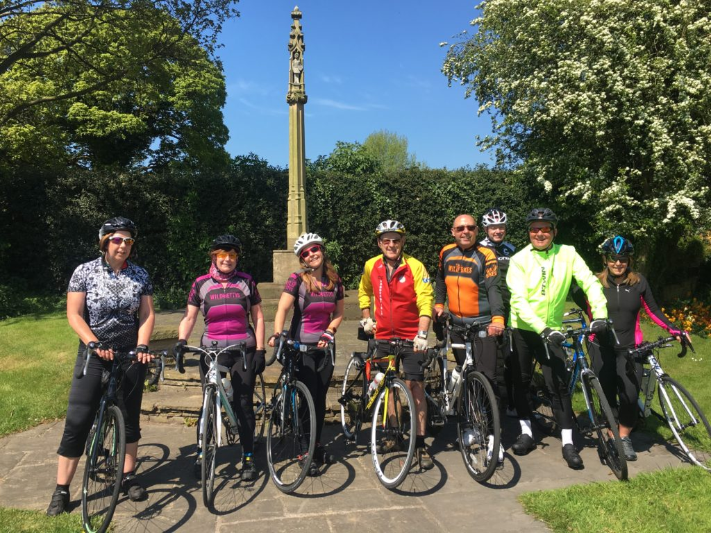 Wild Bikes Social group at Knutsford
