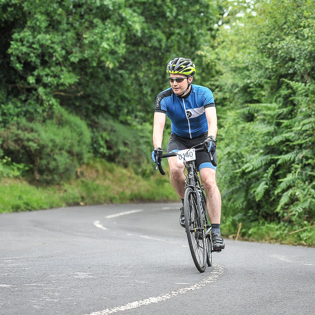 Dave at Bike Chester 2017