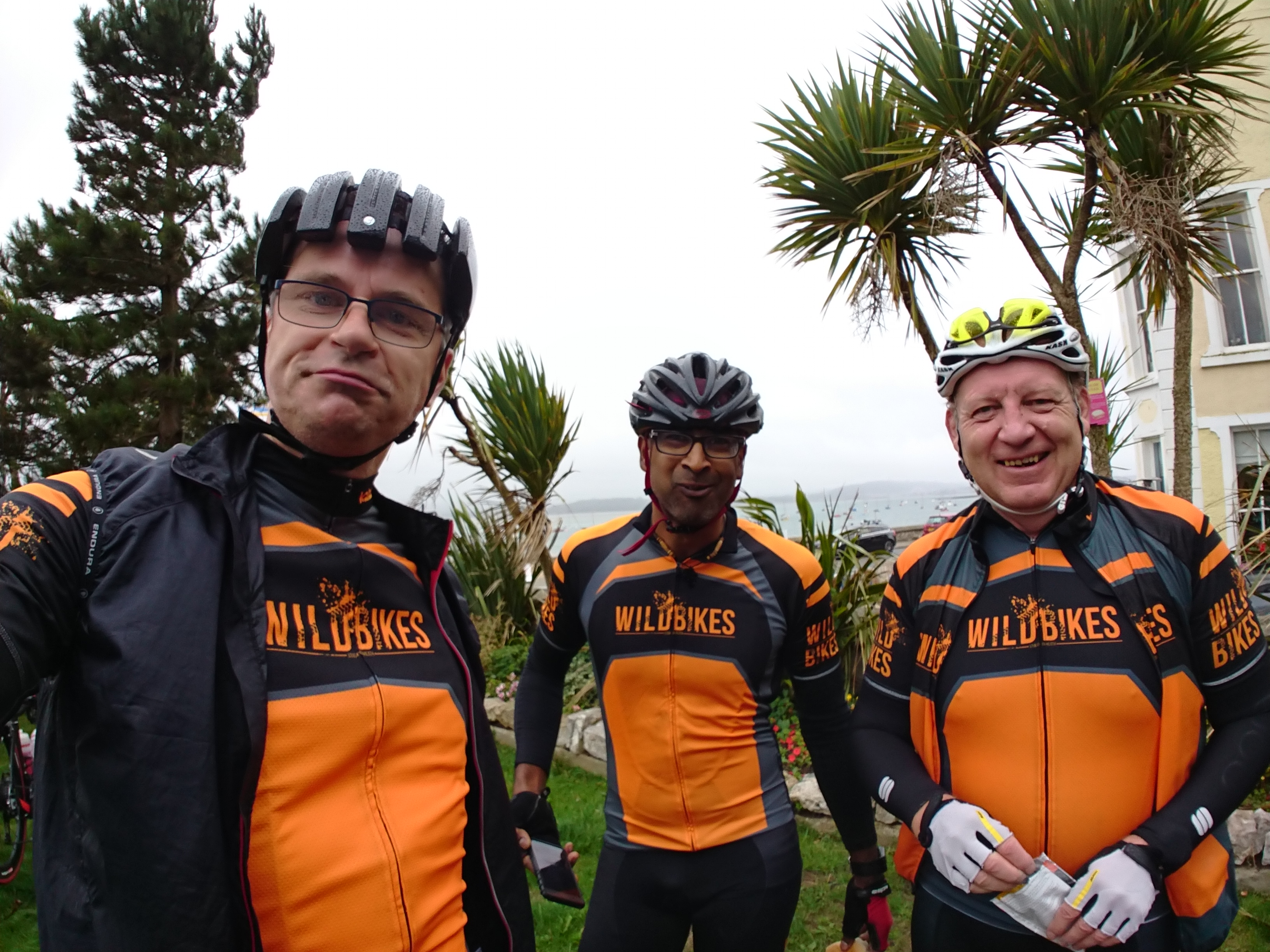 A brief sighting of all three Wild Bikers on the Tour de Mon sportive!